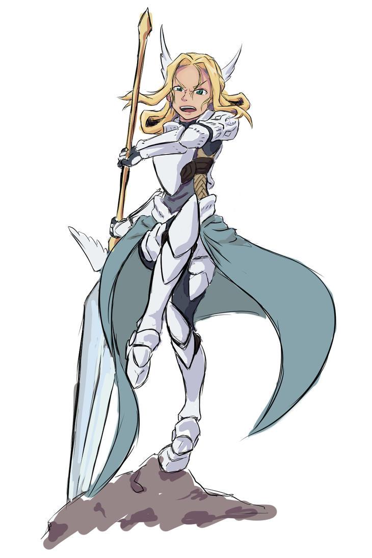 Goddess new armor 3.0 by NIGHT-TALON