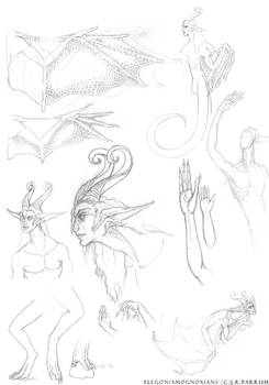 Wild Ellgon Sketches