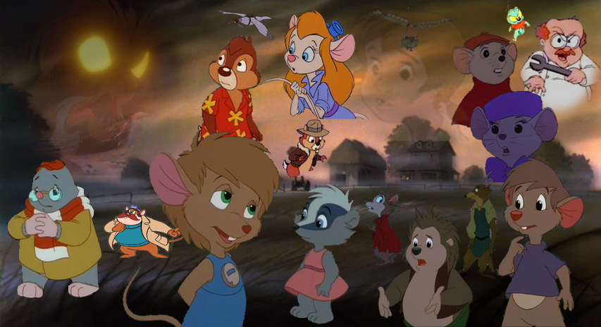 Abigail And The Rats Of Nimh By Cyberduke On Deviantart