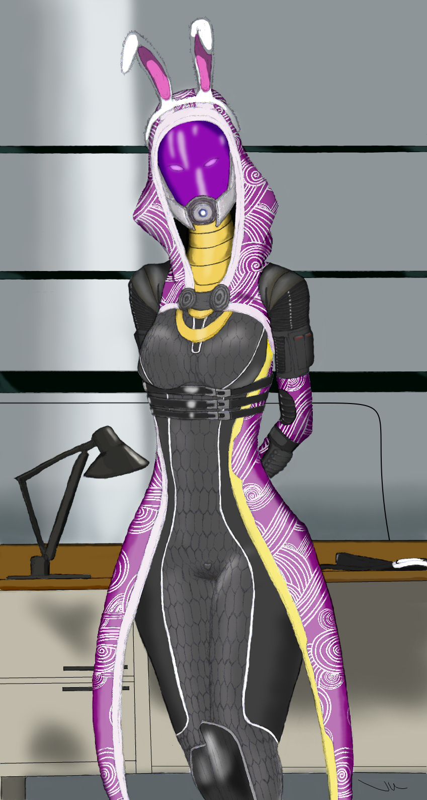 Easter Tali by upshdragoon