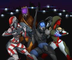 Comm:: Echo Squad by upshdragoon