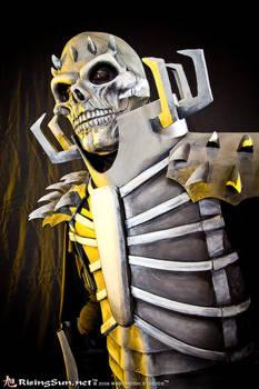 Skull knight up close