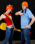 Parappa and Lammy