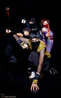 Mini Ninja Group by negativedreamer