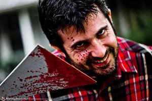 Crazed Lumberjack by negativedreamer