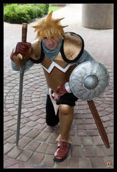 Glenn from Chrono Cross Debute by negativedreamer