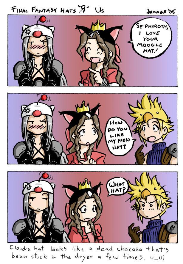 Final Fantasy 7 - Hats R Us by JammerLea