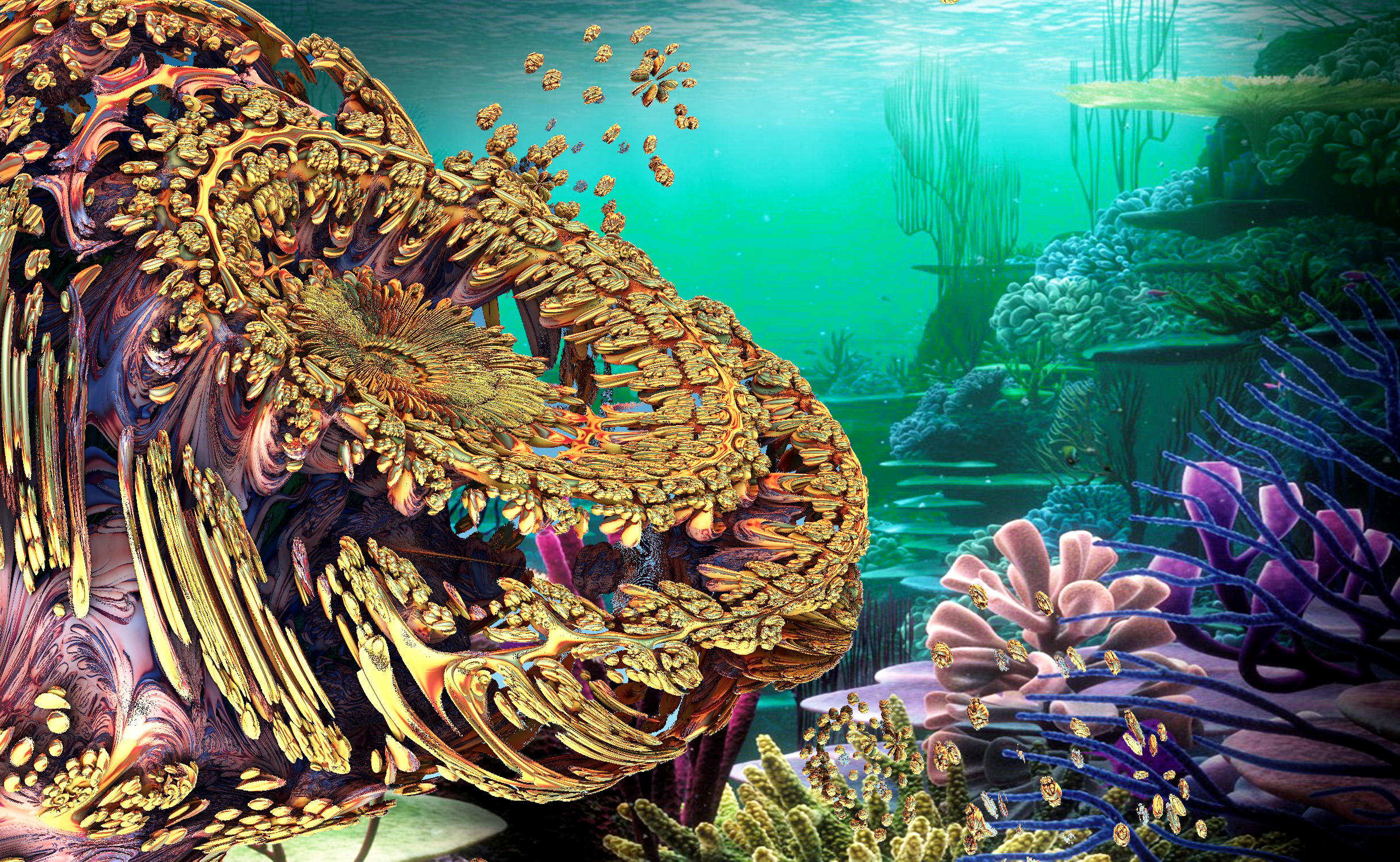 OCEAN LIFE by DorianoArt