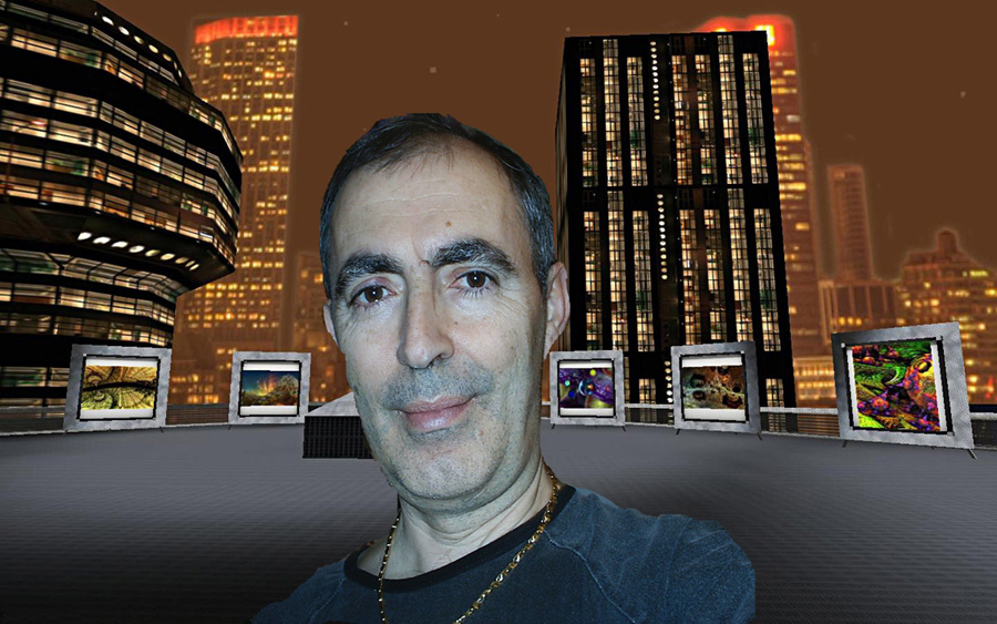 Doriano and the Virtual 3D Gallery by DorianoArt