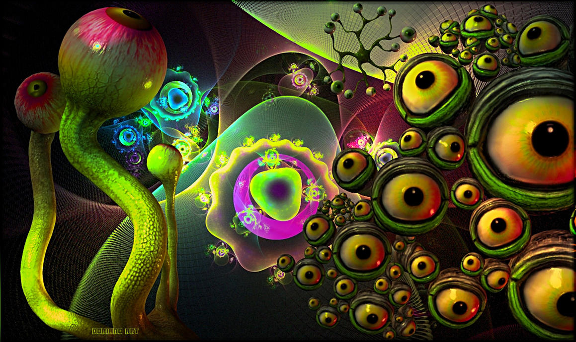 EYE-MANIA by DorianoArt