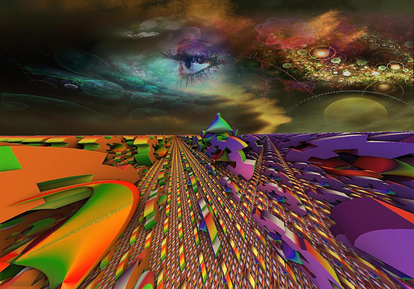 EYE  IN THE SKY by DorianoArt