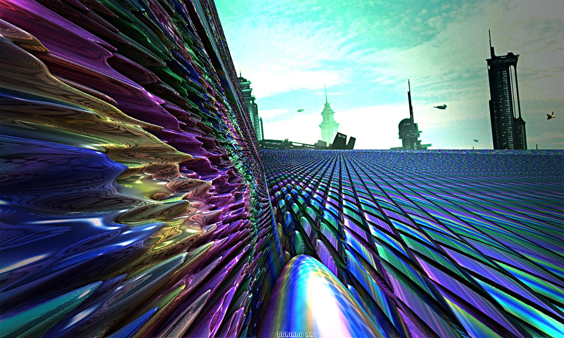 LANDING ON  KIANODOR by DorianoArt