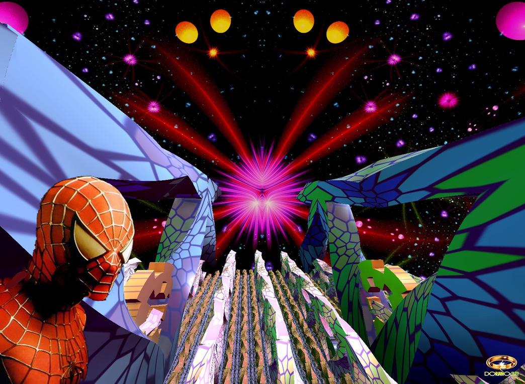 SPIDER-MANDELBULB by DorianoArt
