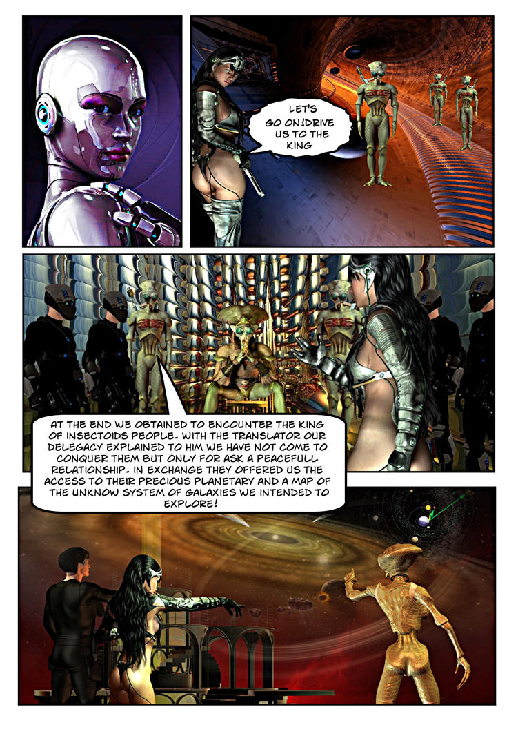 LIOBJA Space Project - Activity Report 5 by DorianoArt