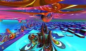 Exploring Fractal Realms of Fantasy by DorianoArt