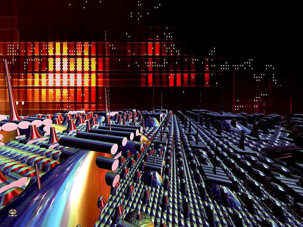Cyber-tron by DorianoArt