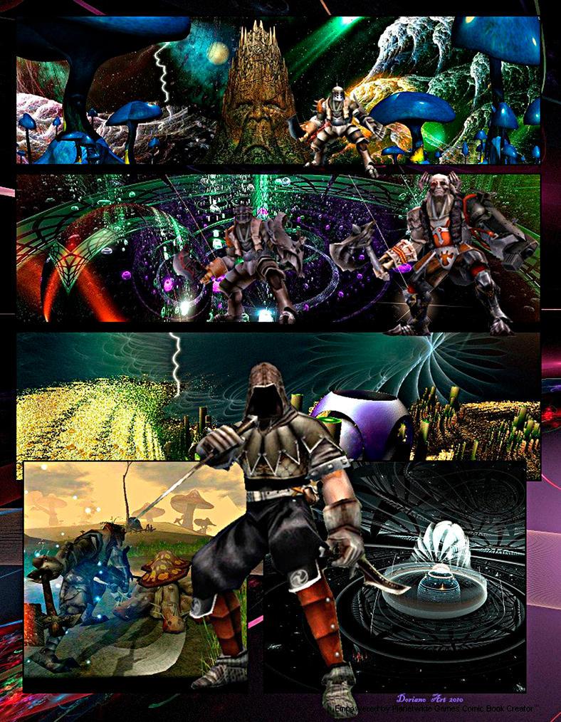 Damned Legion by DorianoArt