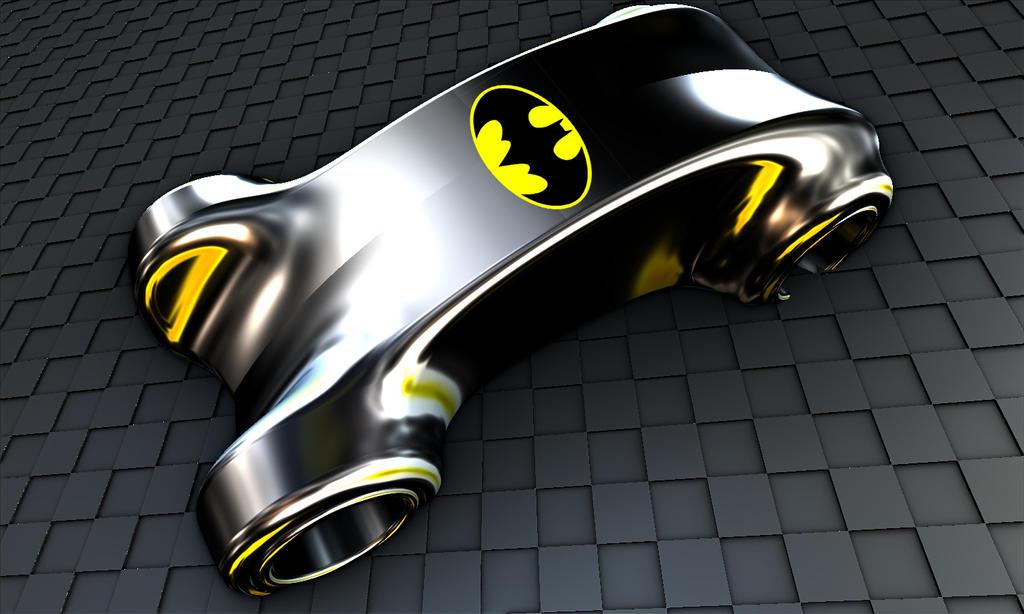 Bat-car by DorianoArt