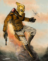 The Rocketeer! by J-Caro