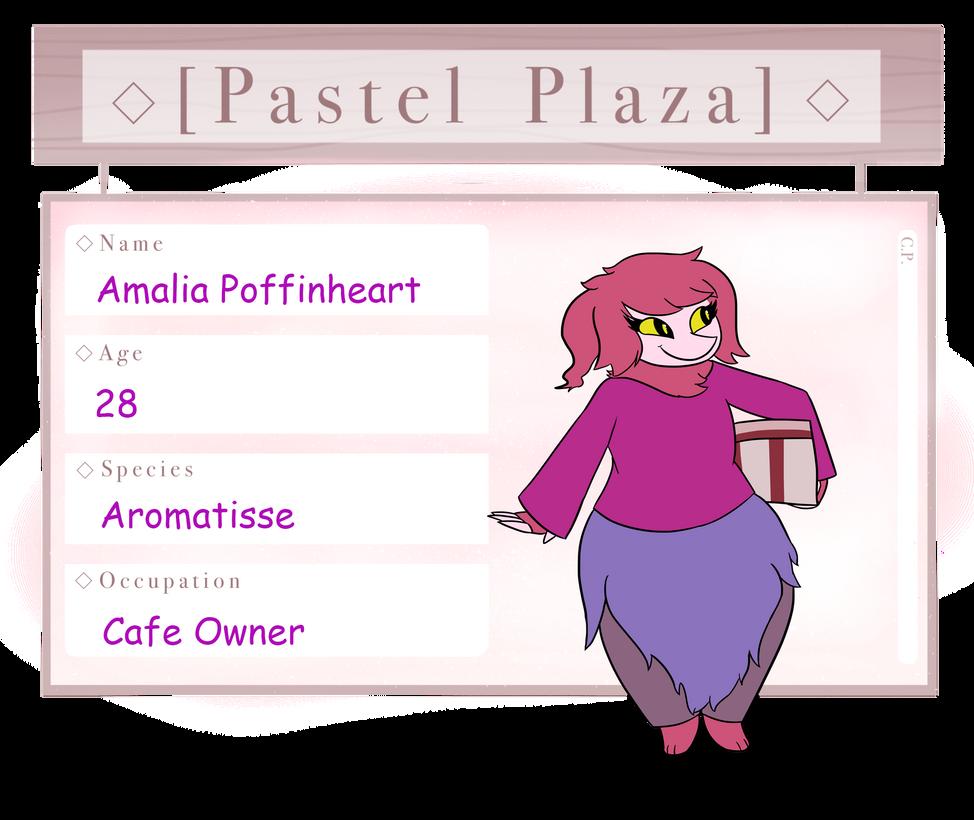 Pastel Plaza   Amalia Poffinheart by Wolven-bane