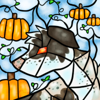 Ridge Stained Glass Fall Icon by Sake-Loup