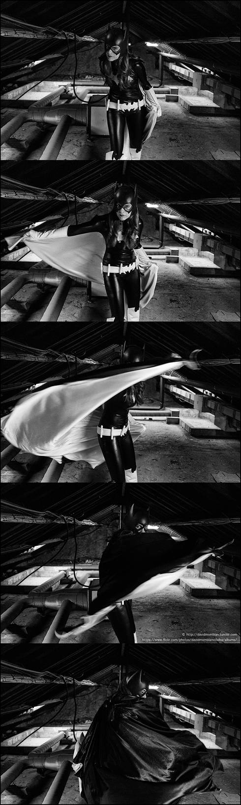 Barbara Gordon Batgirl Sequence