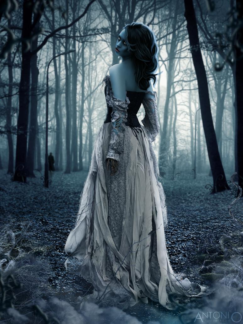 Corpse Bride by Antonio-Figueiredo