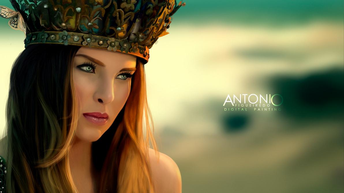Belinda ( Photoshop cs6 + Mouse ) by Antonio-Figueiredo