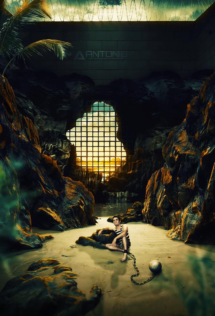 Prison Caribbean by Antonio-Figueiredo