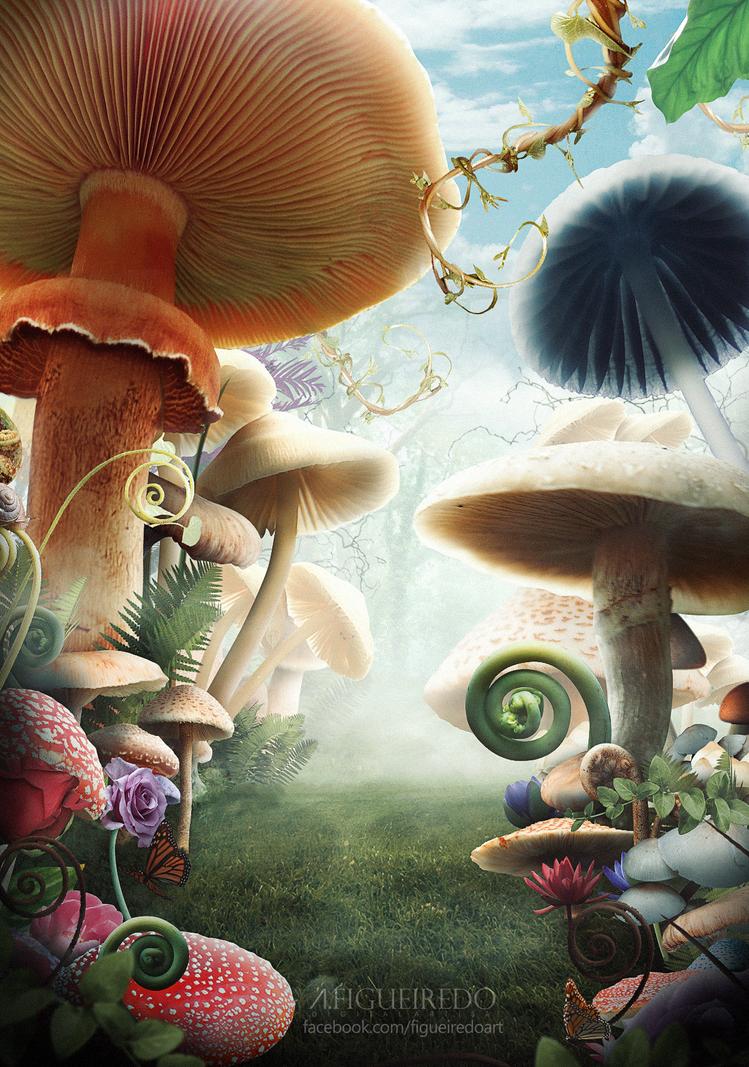 Wonderland by Antonio-Figueiredo