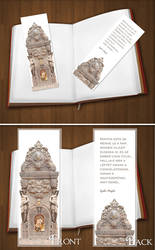 Recreating a dream (white)  Bookmarker by KungfuHamster