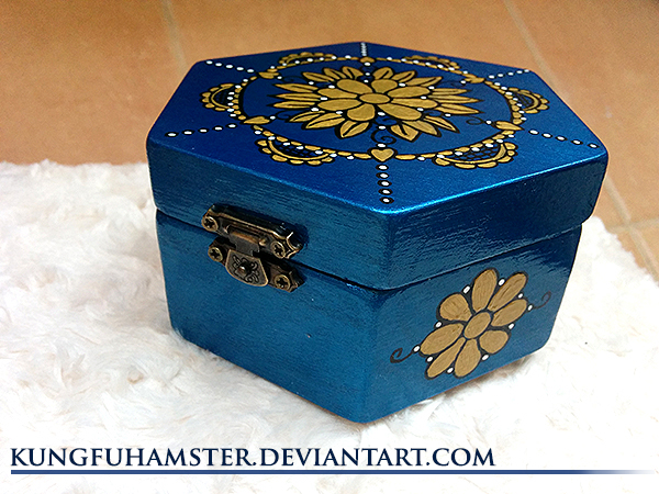 Handmade jewellery box by KungfuHamster