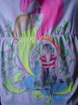 Girl on T-Shirt