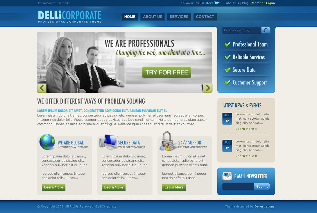 Delli Corporate by dellustrations