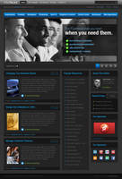 INTERFACES theme by dellustrations