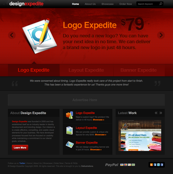 Design Expedite by dellustrations