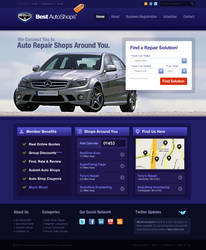 Best Auto Shop by dellustrations