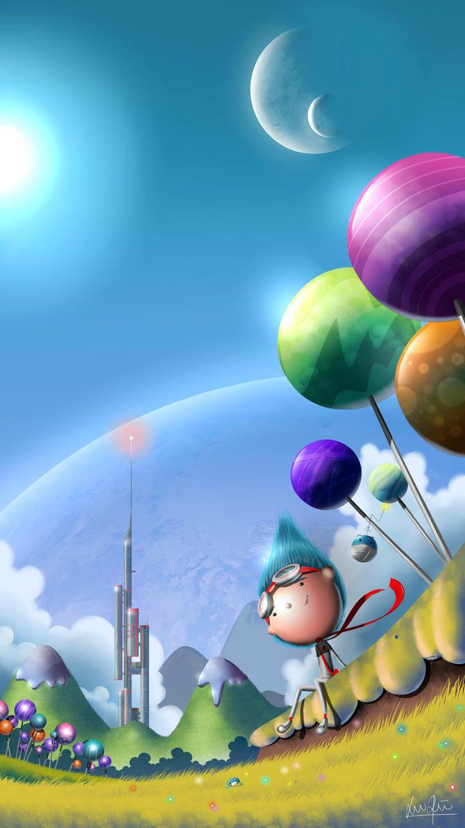 Memories of Ilusia - Lollipop Fields by Khilian