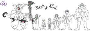 Kelyde and Arsiel
