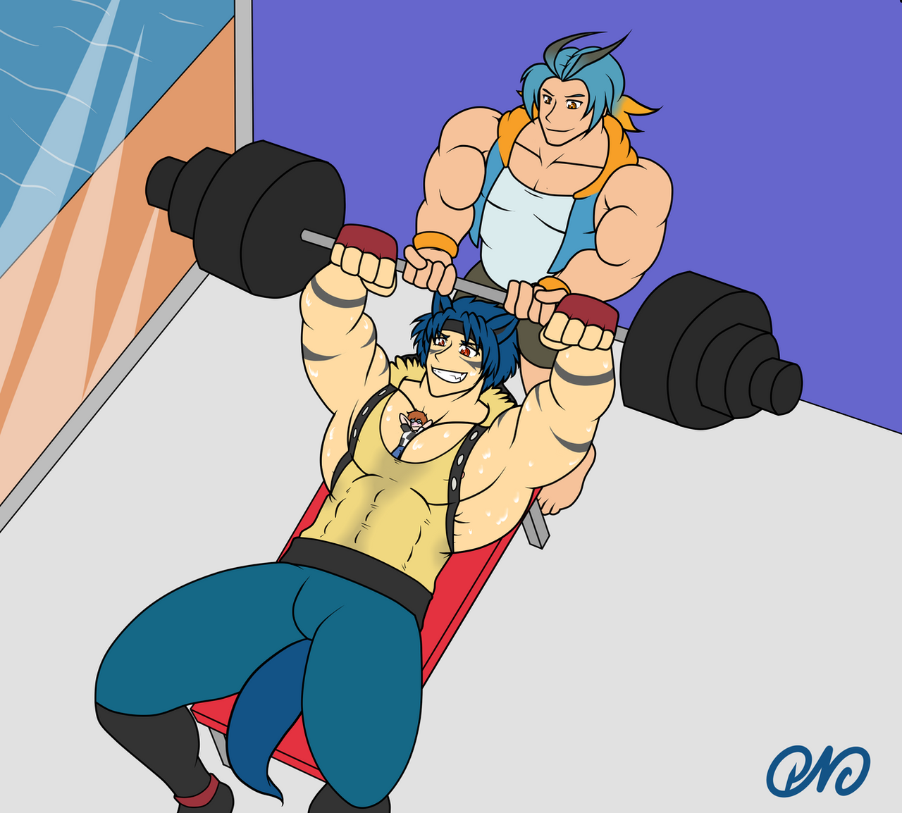 [Kiriban Prize] Comfy Super Training! By RottenHeart6 On