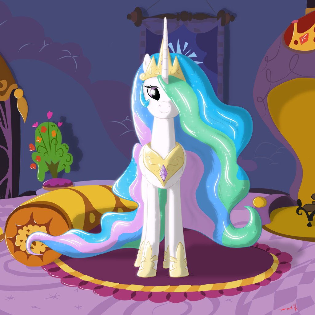 Princess Celestia by Eriada1992