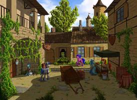 Small town by Eriada1992