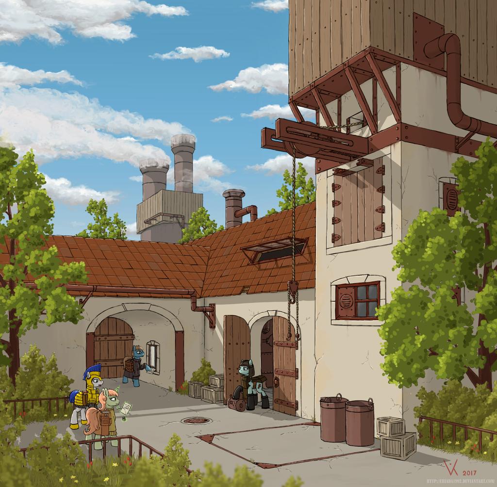 Factory by Eriada1992