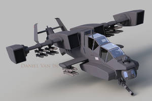Reaper Gunship (FR 3) by Quesocito