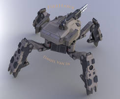 Firewolf Mech (BR) by Quesocito