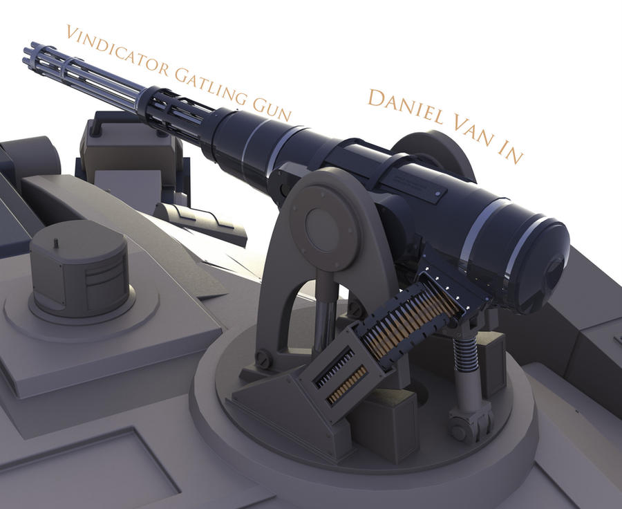 Vindicator Gatling Gun by Quesocito