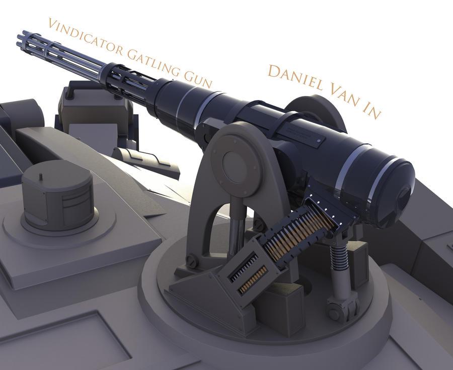 Vindicator Gatling Gun by Quesocito