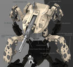 Firewolf Mech Full View