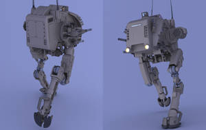Prowler Mech (FL I) by Quesocito