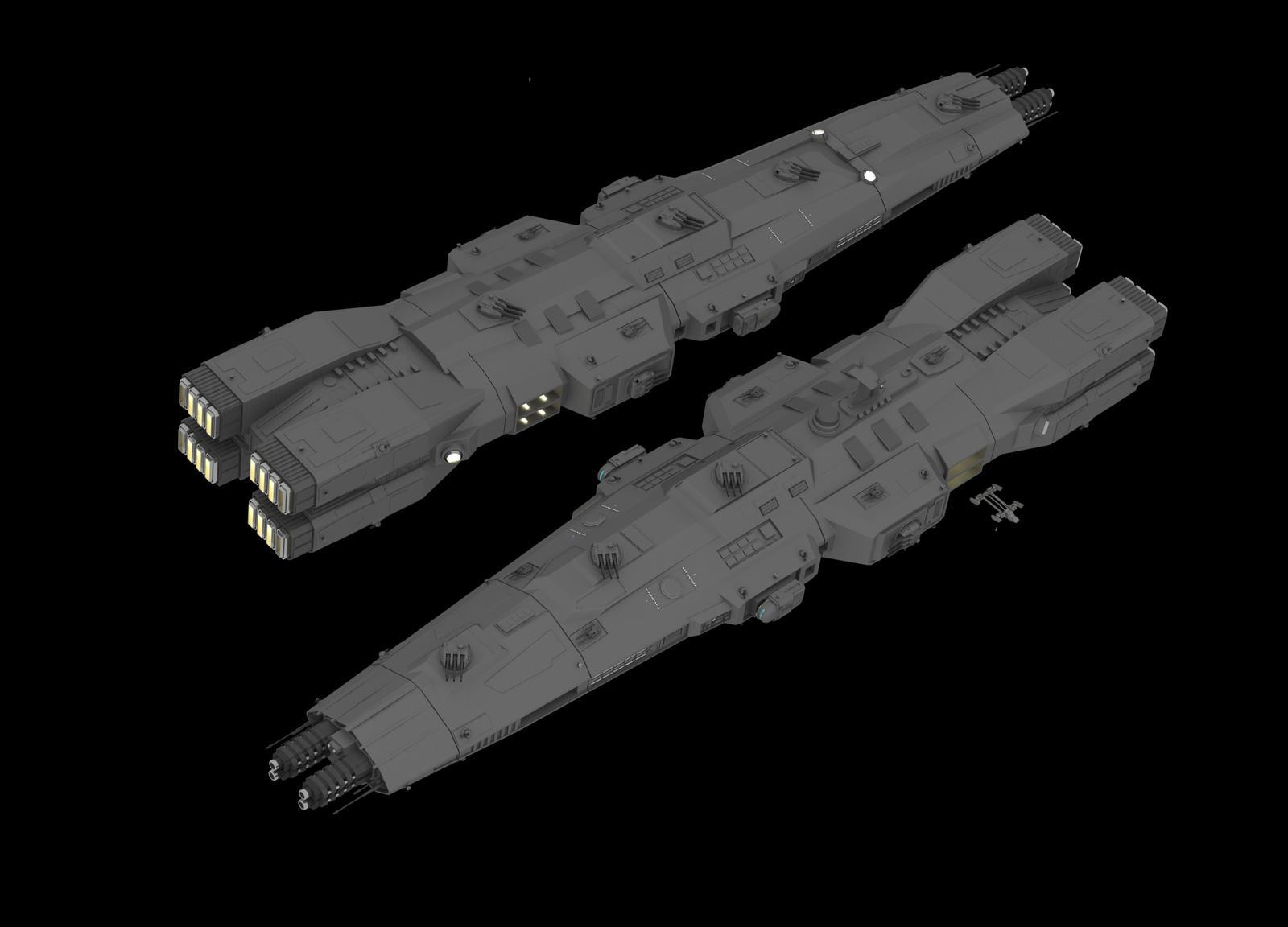 Eradicator Battleship by Quesocito